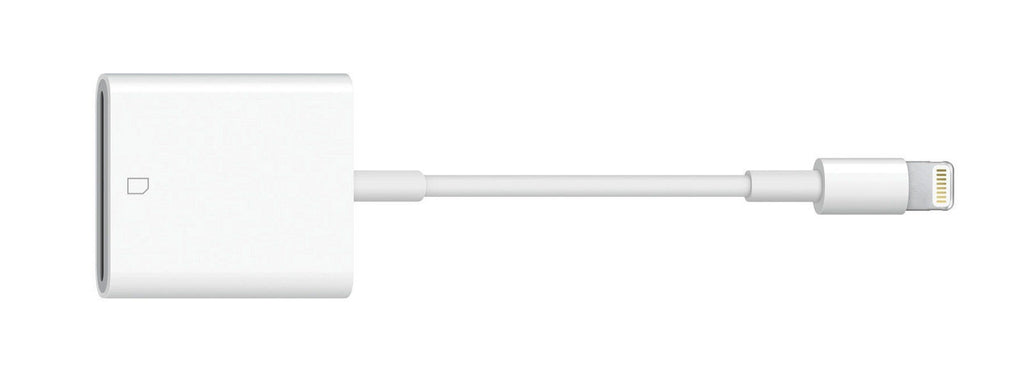 Genuine Apple Lightning to SD Card Camera Reader - MJYT2AM/A-Daily Steals