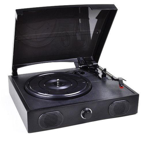 Daily Steals-VIBE SOUND USB Turntable with Built-In Speakers-Home and Office Essentials-