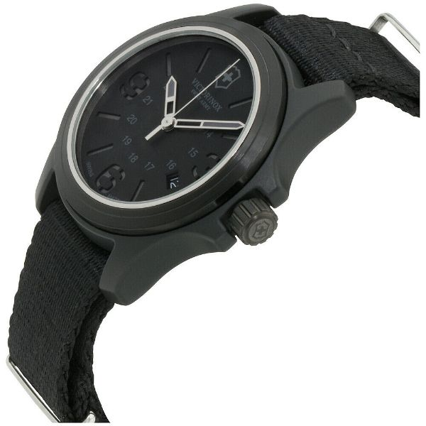 Victorinox Quartz Movement Black Men's Watch-Daily Steals
