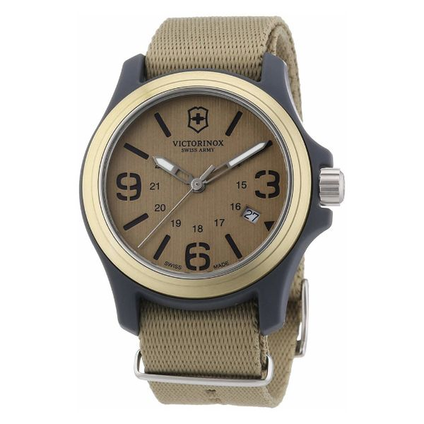 Victorinox Quartz Movement Brown Men's Watch-Daily Steals