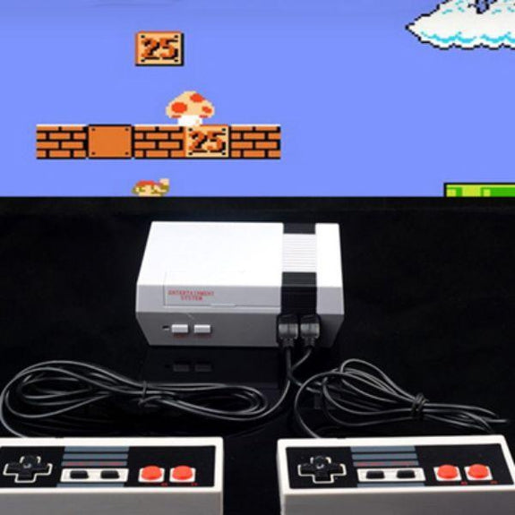 Classic Video Game Console with Over 500 Games and Two Controllers