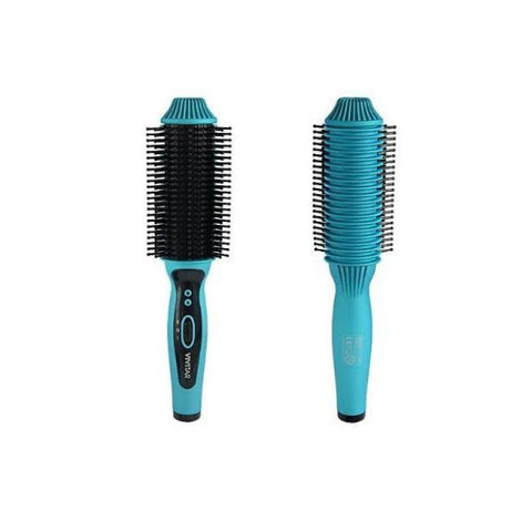 Daily Steals-Vivitar Ceramic Straightening/Curling Hair Brush-Health and Beauty-