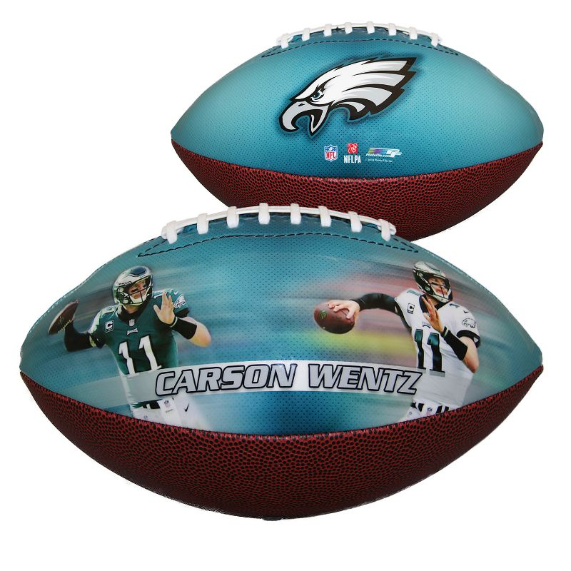 NFL Philadelphia Eagles - Carson Wentz - Sports Memorabilia Football-Daily Steals