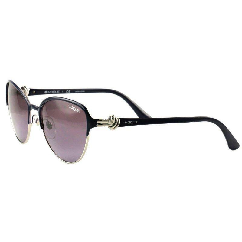 Vogue Women's Sunglasses VO4012-S 965 8H Dark Purple Silver Violet Plastic 55 18 135-