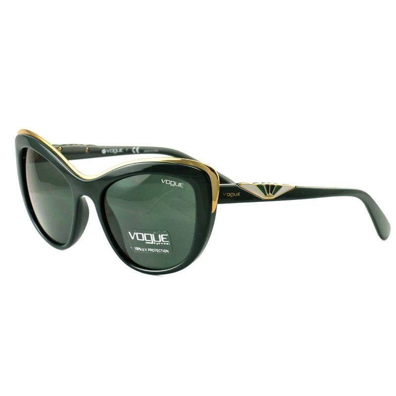 Vogue Women's Sunglasses VO5054-S 2417 71 Green Gold Green Full Rim Plastic 53 18 140-