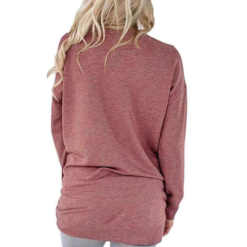 Solid Long Sleeve Shirt-Daily Steals