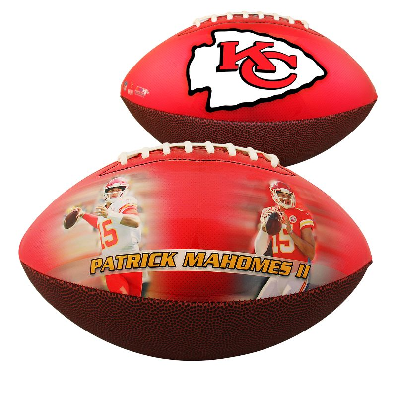 Kansas City Chiefs - Patrick Mahomes - Sports Memorabilia Football-Daily Steals
