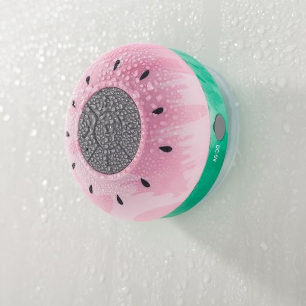 Liger Water-Resistant Bluetooth Shower Speaker - 2 Pack-Watermelon-Daily Steals
