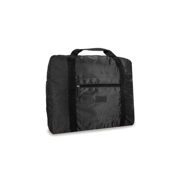 Waterproof Folding Duffel Bag Carry On-Black-Daily Steals
