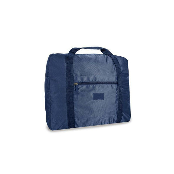 Waterproof Folding Duffel Bag Carry On-Navy-Daily Steals
