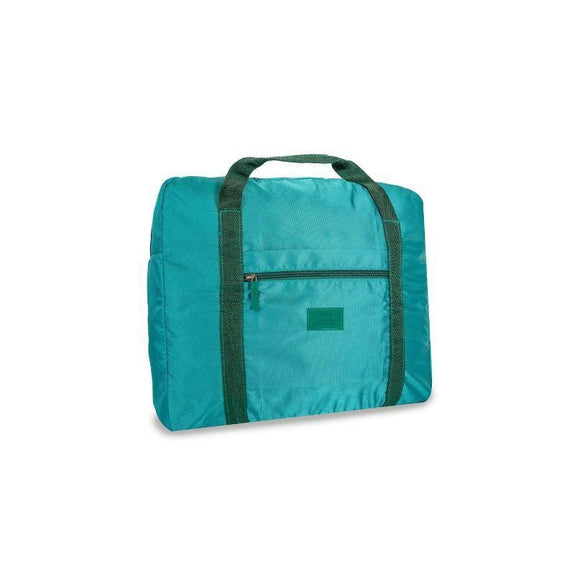Waterproof Folding Duffel Bag Carry On-Teal-Daily Steals