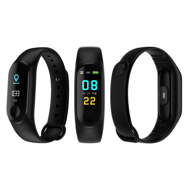 Waterproof Activity Fitness Tracker-Black-Daily Steals