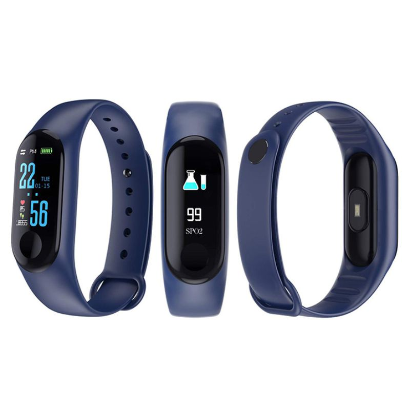Waterproof Activity Fitness Tracker-Blue-Daily Steals