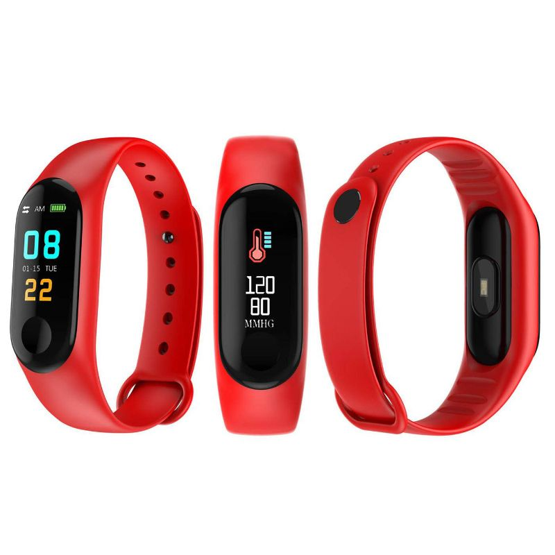 Waterproof Activity Fitness Tracker-Red-Daily Steals