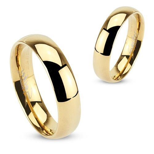 Titanium Plain Wedding Band-Guld-6-Daily Steals