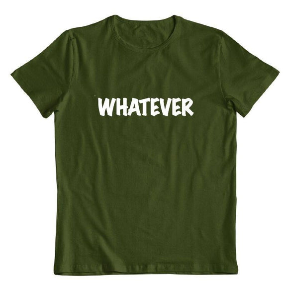 "Daily Steals-""Whatever"" T-Shirt-Men's Apparel-Forest Green-S-"