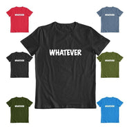 "Daily Steals-""Whatever"" T-Shirt-Men's Apparel-Black-S-"