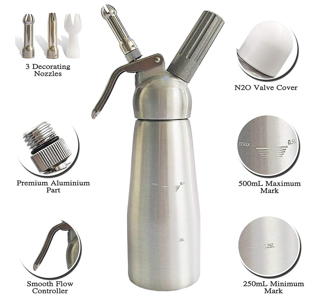 Whipped Cream Dispenser-Daily Steals