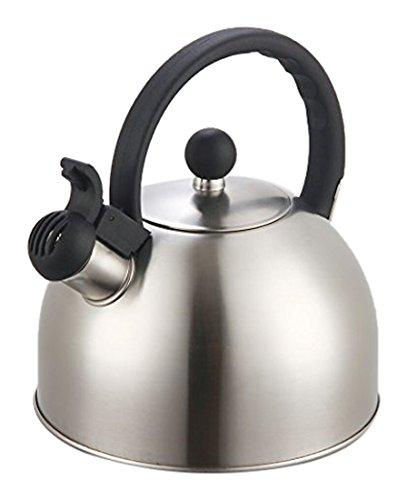 Daily Steals-Whistling Tea Kettle - Black-Foods-