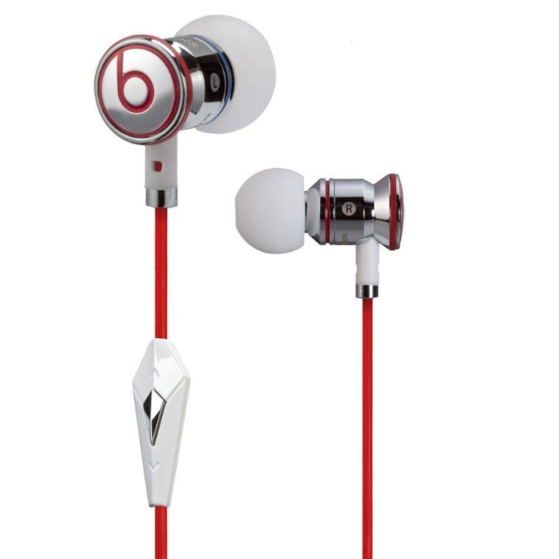 Casque Monster Beats by Dr Dre iBeats avec ControlTalk-White-Daily Steals
