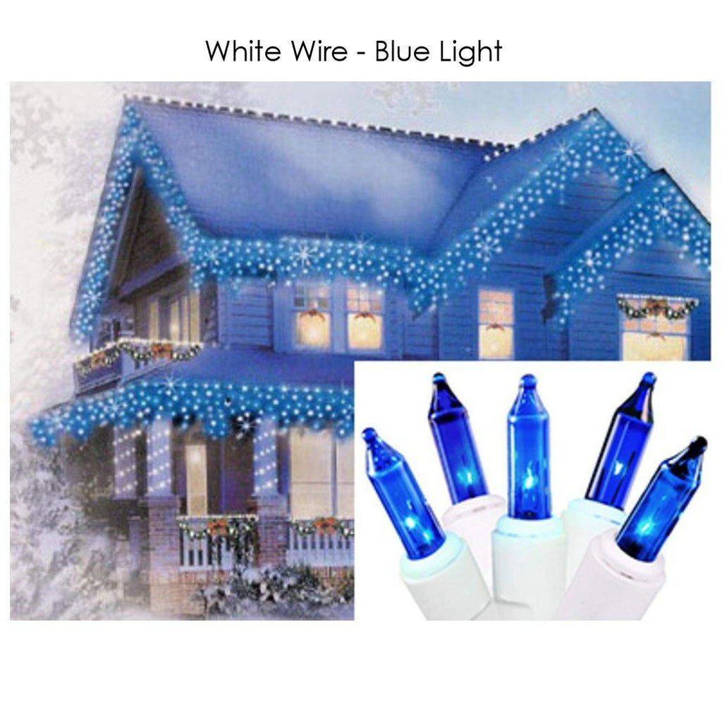 update alt-text with template Daily Steals-Holiday Essence 100-Count Christmas Light Set-Home and Office Essentials-White wire/blue light-