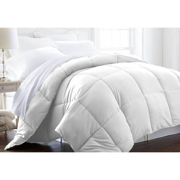Home Collection All-Season Premium Down Alternative Comforter-White-Twin-Daily Steals