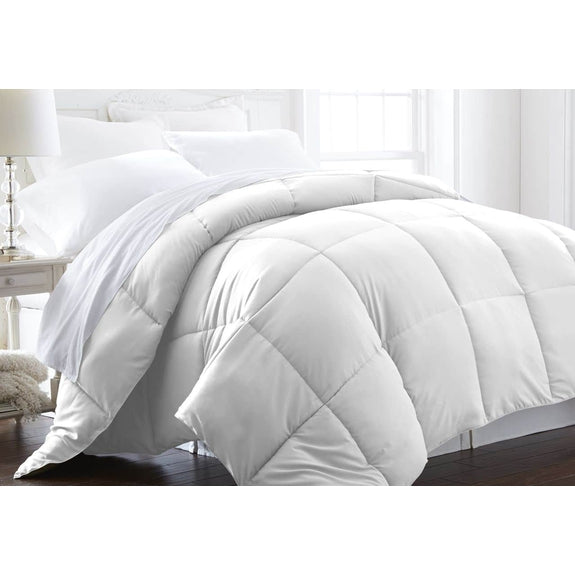Home Collection All-Season Premium Down Alternative Comforter-White-King-Daily Steals