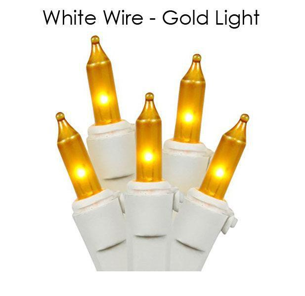 update alt-text with template Daily Steals-Holiday Essence 100-Count Christmas Light Set-Home and Office Essentials-White wire/Gold light-