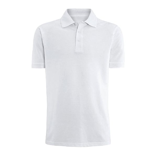 Men's Fashion Classic Fit Cotton Polo Shirt - Multiple Colors-White-L-Daily Steals