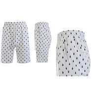 Men's Printed French Terry Shorts - Sizes S-2X-White Penguins-M-Daily Steals