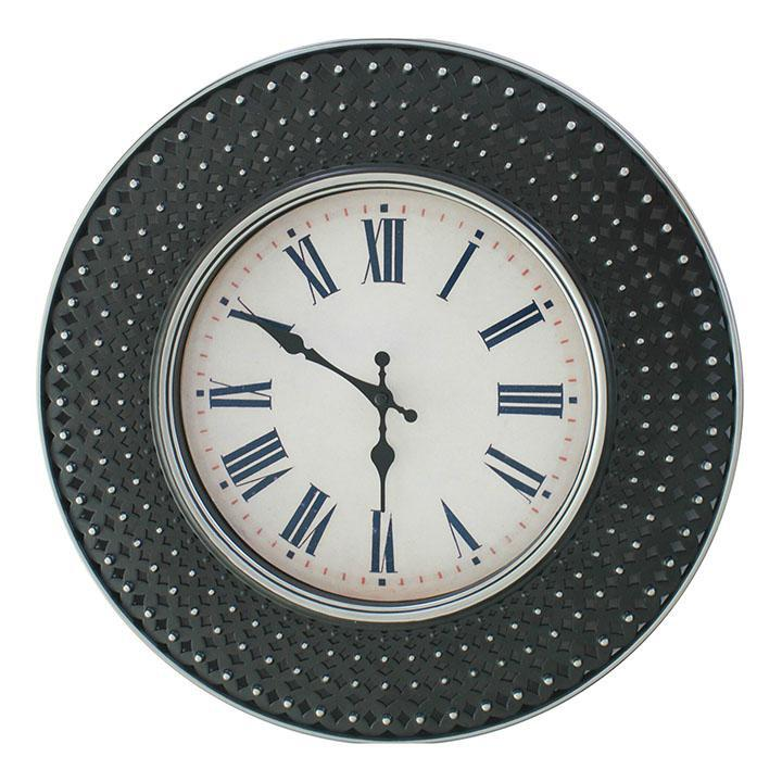 Pinner Clock Company 16-inch Heirloom Wall Clock-Black-Daily Steals