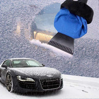 Zone Tech Snow Scraper Mitt for Windshields
