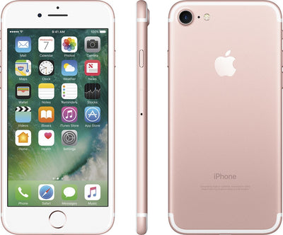 Apple iPhone 7 32GB Unlocked GSM Quad-Core Phone w/ 12MP Camera - Rose Gold (Certified Refurbished)