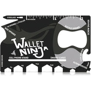 Wallet Ninja- 18 in 1 Credit Card Sized Multitool - 2 Pack-Daily Steals