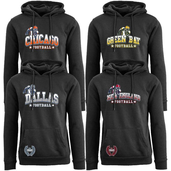 Women's Greatest Football Legends Pull Over Hoodie-Daily Steals