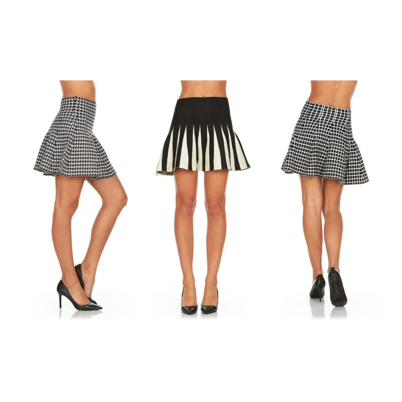 Women's Knit Sweater Skirts - 3 Pack-S/M-Daily Steals