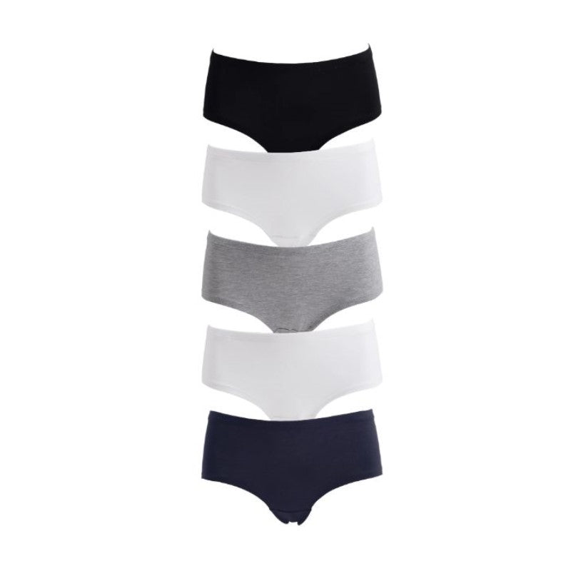 Women's Plus Size Hipster Panties - 5 Pack-Daily Steals