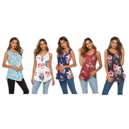 Women's Sleeveless Printed Tank-Daily Steals