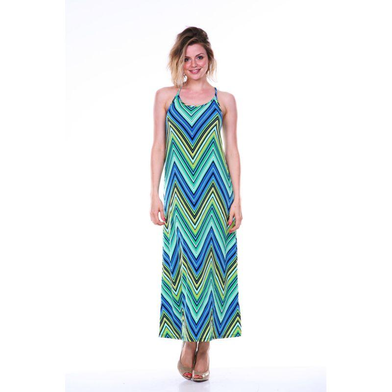 Women's Adalina Maxi Dress by Whitemark-Green-Large-Daily Steals