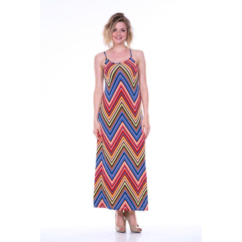 Women's Adalina Maxi Dress by Whitemark-Red-X-Large-Daily Steals
