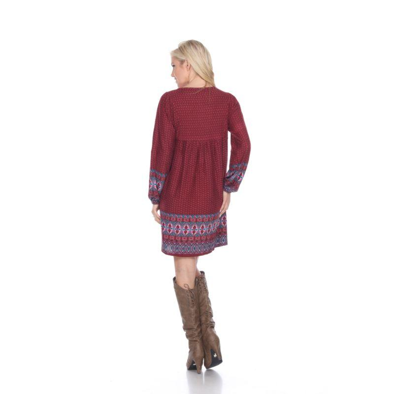 Women's Atarah Embroidered Sweater Dress by Whitemark-Daily Steals