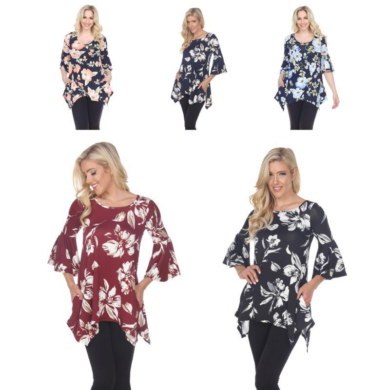 Women's Blanche Tunic Top by Whitemark-Daily Steals