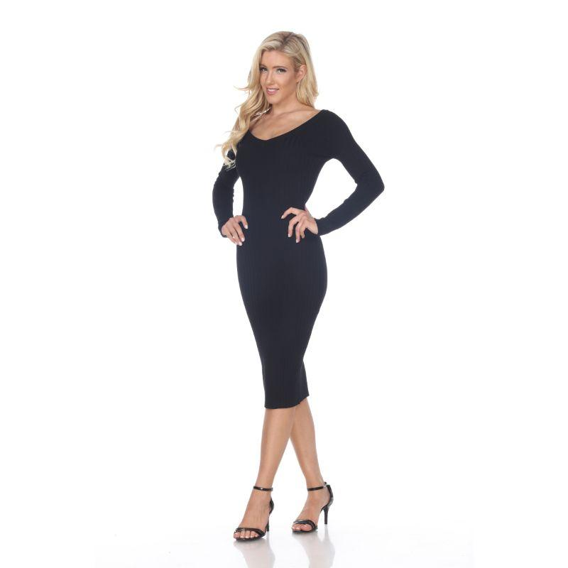 Women's Destiny Sweater Dress by Whitemark-Black-L-Daily Steals