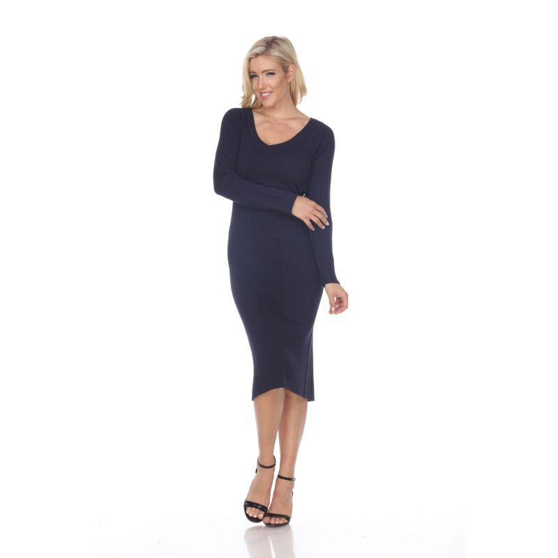 Women's Destiny Sweater Dress by Whitemark-Navy-L-Daily Steals