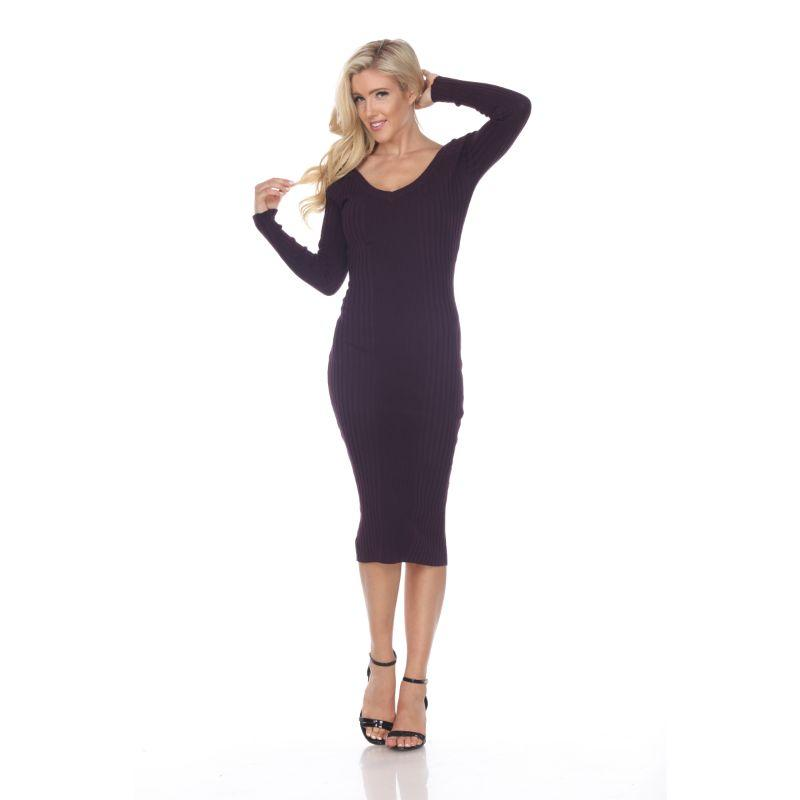 Women's Destiny Sweater Dress by Whitemark-Purple-M-Daily Steals