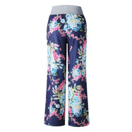 Women's Floral Pants with White Waist by Lily Posh-Daily Steals