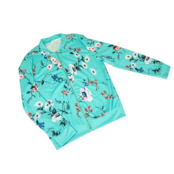Women's Floral-Patterned Jacket-Daily Steals