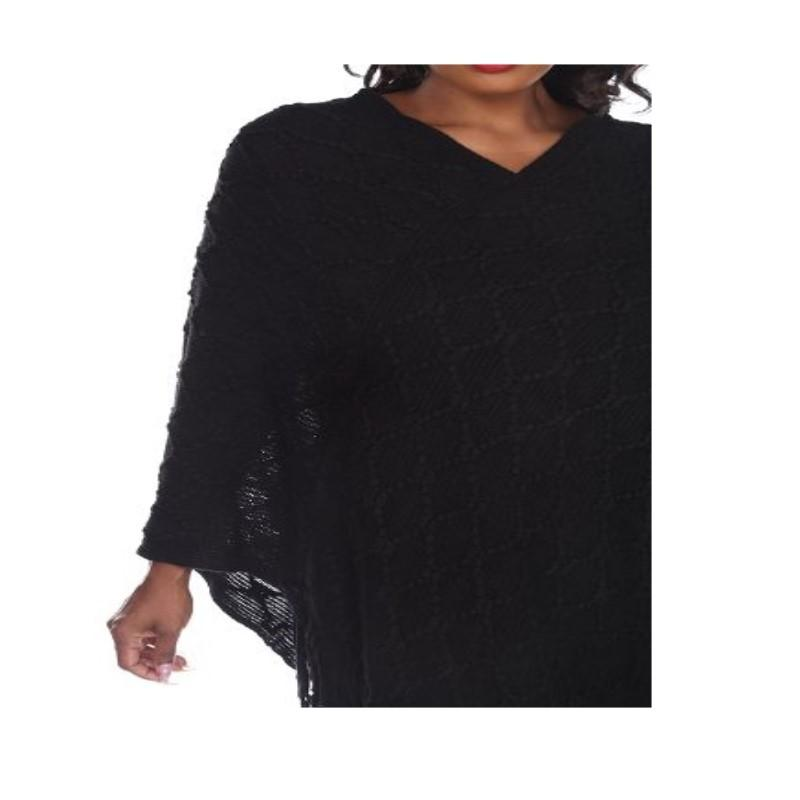 Women's Frostine Poncho By White Mark-Daily Steals