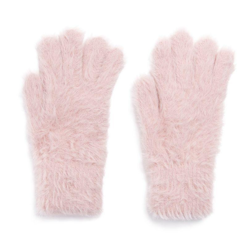 Women's Fuzzy Gloves by Muk Luks-Daily Steals