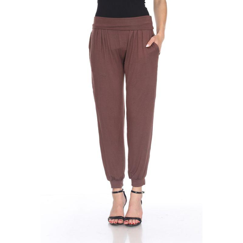 Women's Harem Pants by Whitemark-Brown-M-Daily Steals